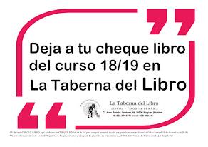 CAMPAÑA CHEQUE LIBRO 18/19