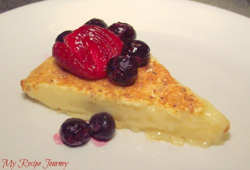 My Recipe Journey: Simple Creme Brulee Pie