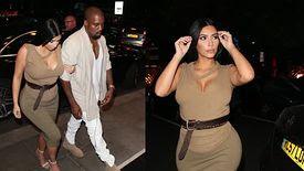 Kim Kardashian et Kanye West passent une soirée romantique avant Glastonbury