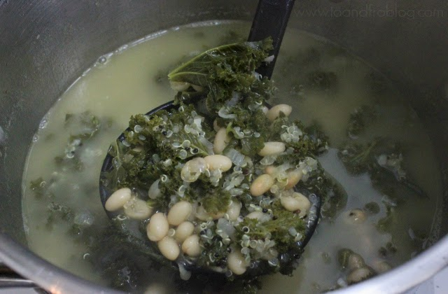 kale, quinoa and bean soup recipe