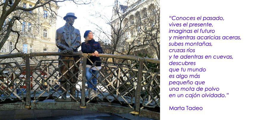 Marta Tadeo: Palabras, instantes....