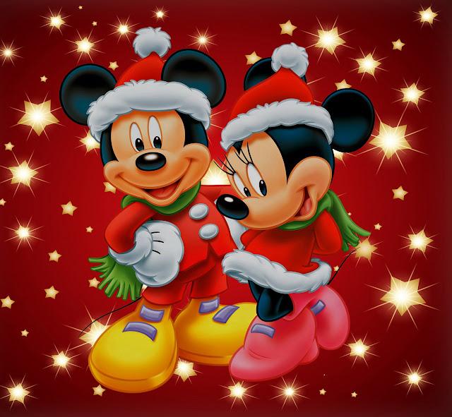 animated disney Christmas wallpaper