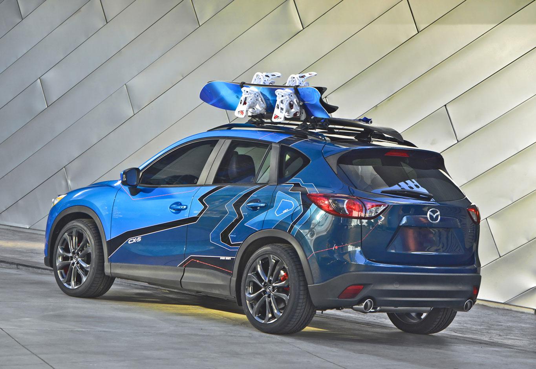 Mazda MX-5 Super25, Three Mazda CX-5 Concepts Debut at 2012 SEMA ...