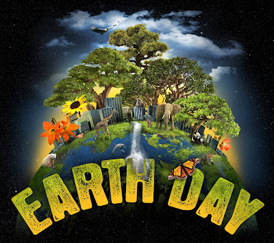 Earth Day's 42nd anniversary Clip Art