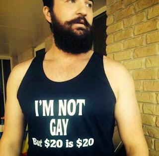 I'm Not Gay But $20 is $20 T-Shirt
