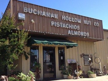 Nuts Fresh From the Farm at Buchanan Hollow Nut Company http://exploringcaliforniaandbeyond.blogspot.com