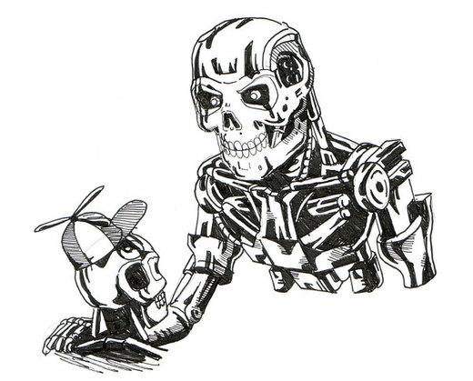 Terminator to Son por Fatmarco