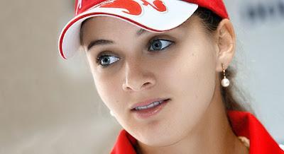 Anna Chakvetadze y su rostro angelical