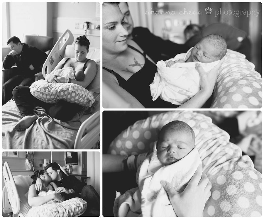 eugene springfield oregon newborn fresh 48 hospital photography