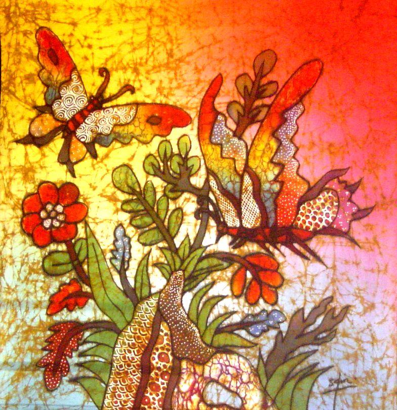 Jual Lukisan Batik