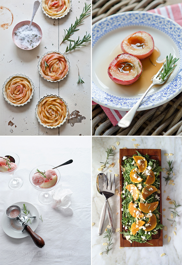 ... free white peach tartelettes with rosemary sugar form Tartelette