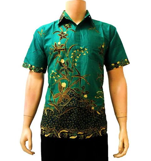 Model Baju Batik Modern Terbaru Yang Sedang Trend