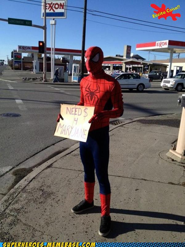 nao ta facil, spider, homem aranha, eeeita coisa