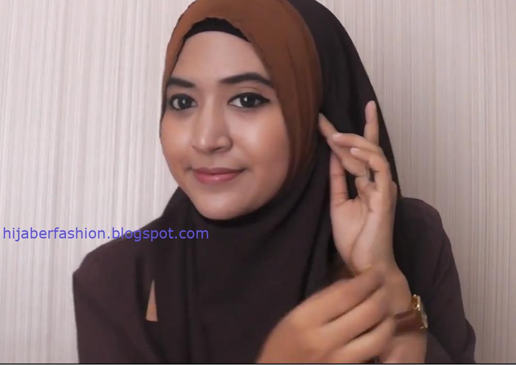 Cara Memakai Jilbab Untuk Kuliah | Tutorial Hijab