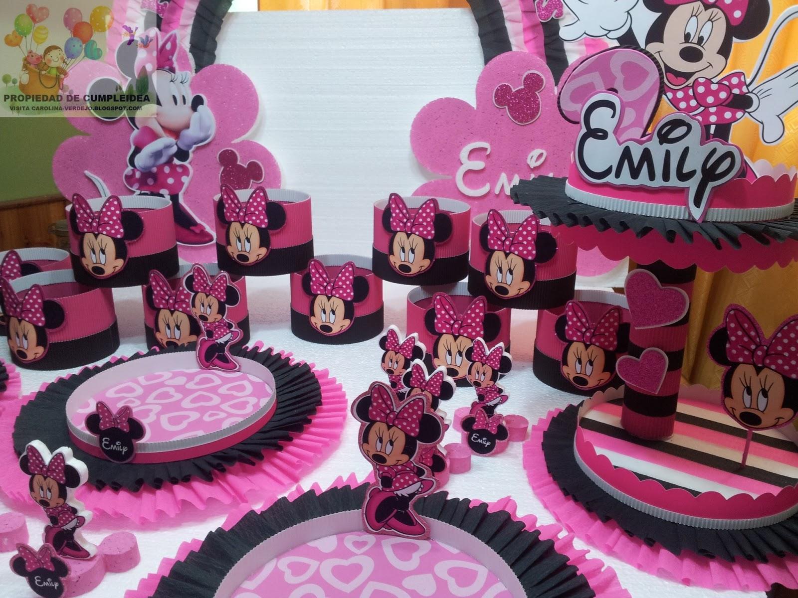 Decoraciones infantiles minnie mouse for Decoracion minnie mouse