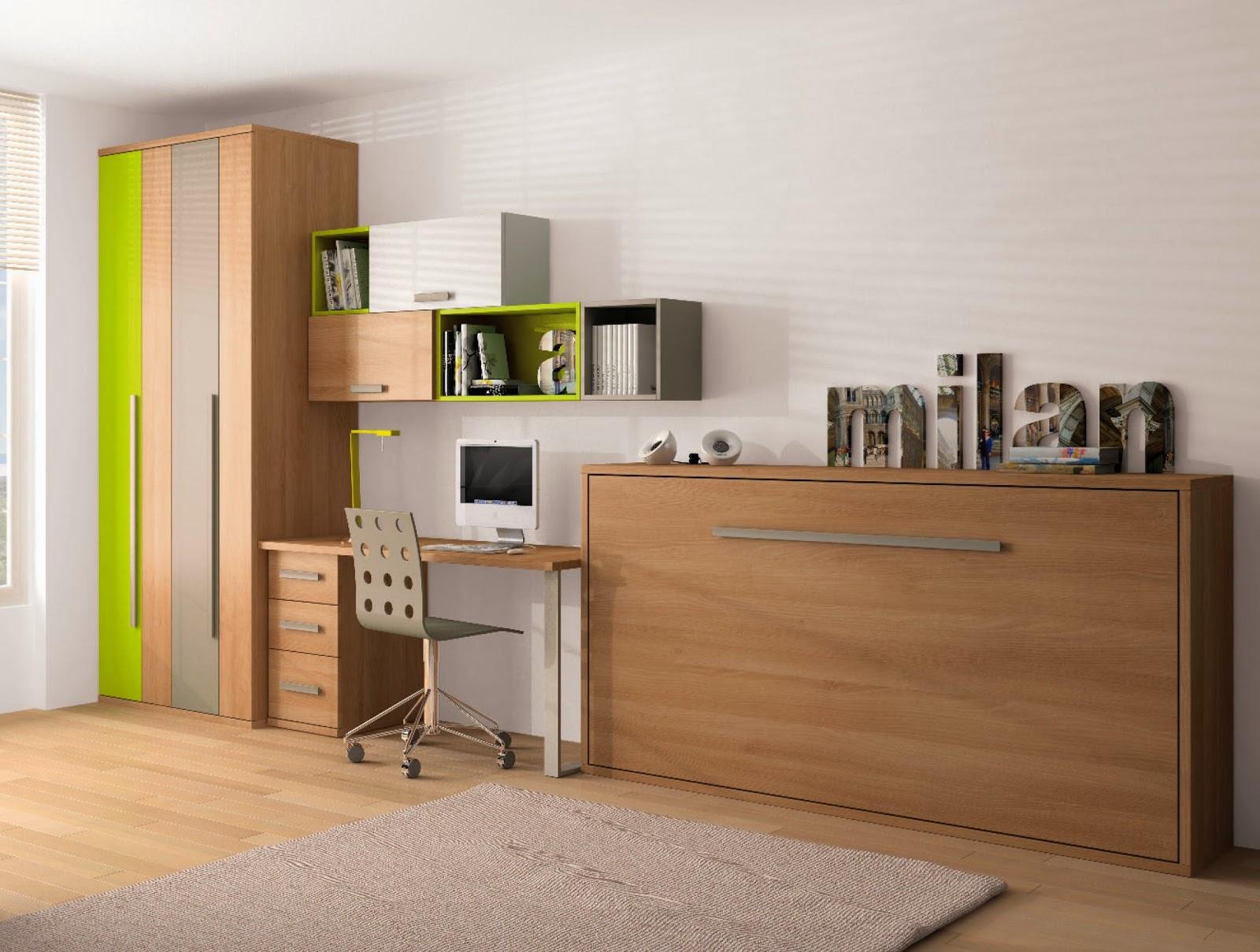 Dormitorios juveniles iii las camas abatibles tkautiva for Camas abatibles juveniles