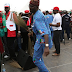 OMG!! Check Out Picture Of Fashola Dancing 'Shoki' During A Campaign Rally