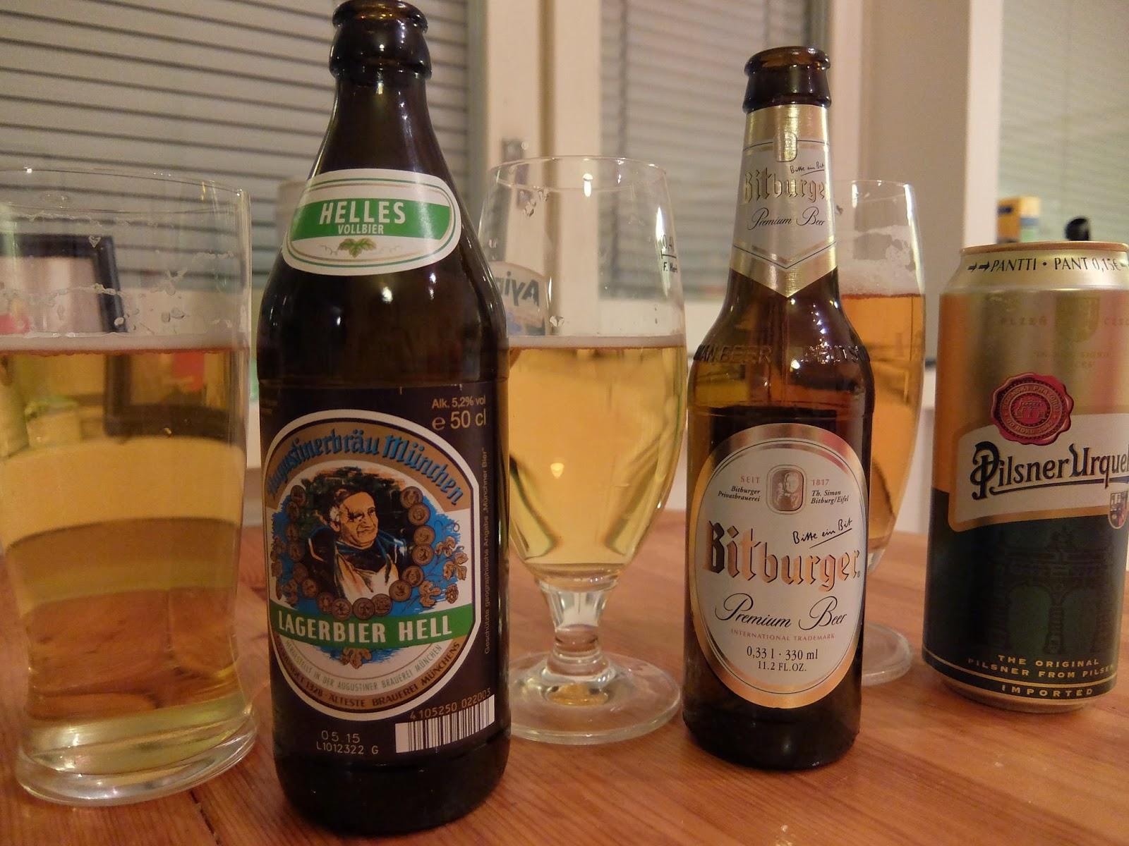 Hyvä saksalainen olut