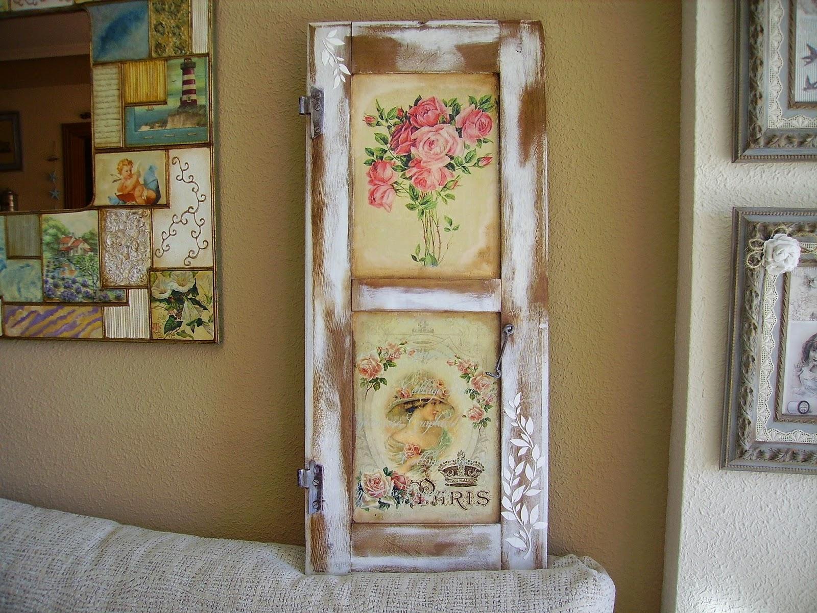 Retazos de madera abril 2015 for Espejos con puertas viejas