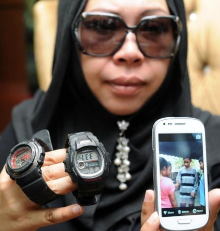 Barang Peribadi Anak Dr Hasmiza Sebagai Kenangan