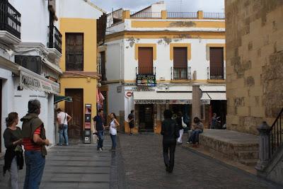 Old city of Cordoba in Spain