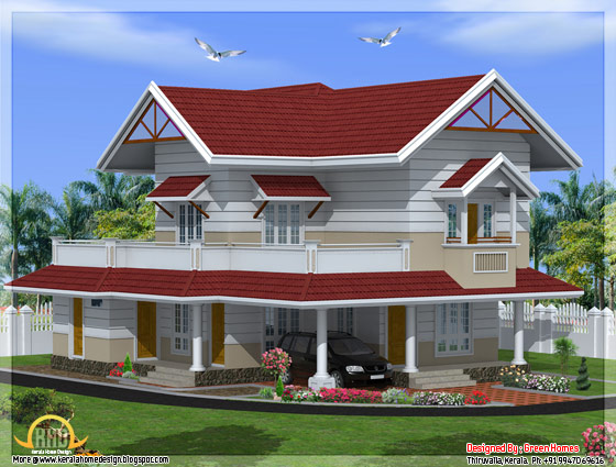 May 2012 kerala home design and floor plans for Best green home designs