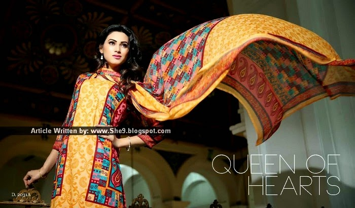 Sitara Cotton Queen Lawn Collection 2015