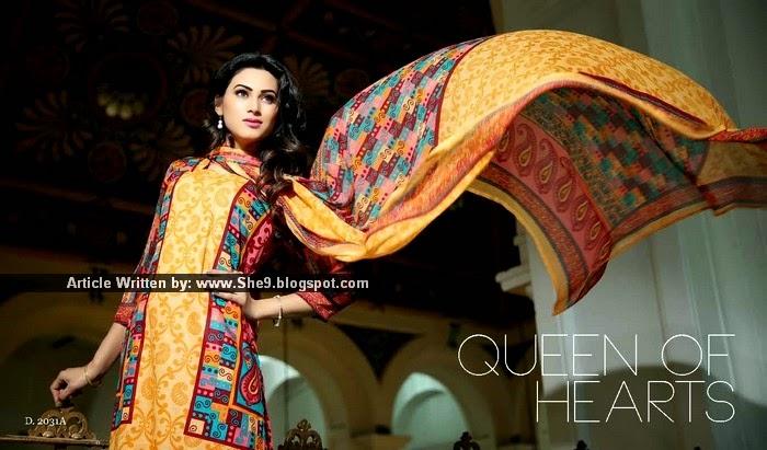 Sitara Cotton Queen Lawn Collection 2015