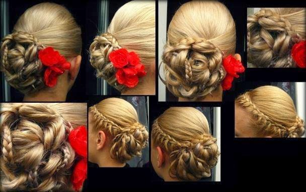 New indian wedding hairstyles 2014