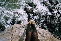 El mar siempre tiene cosas que contar.