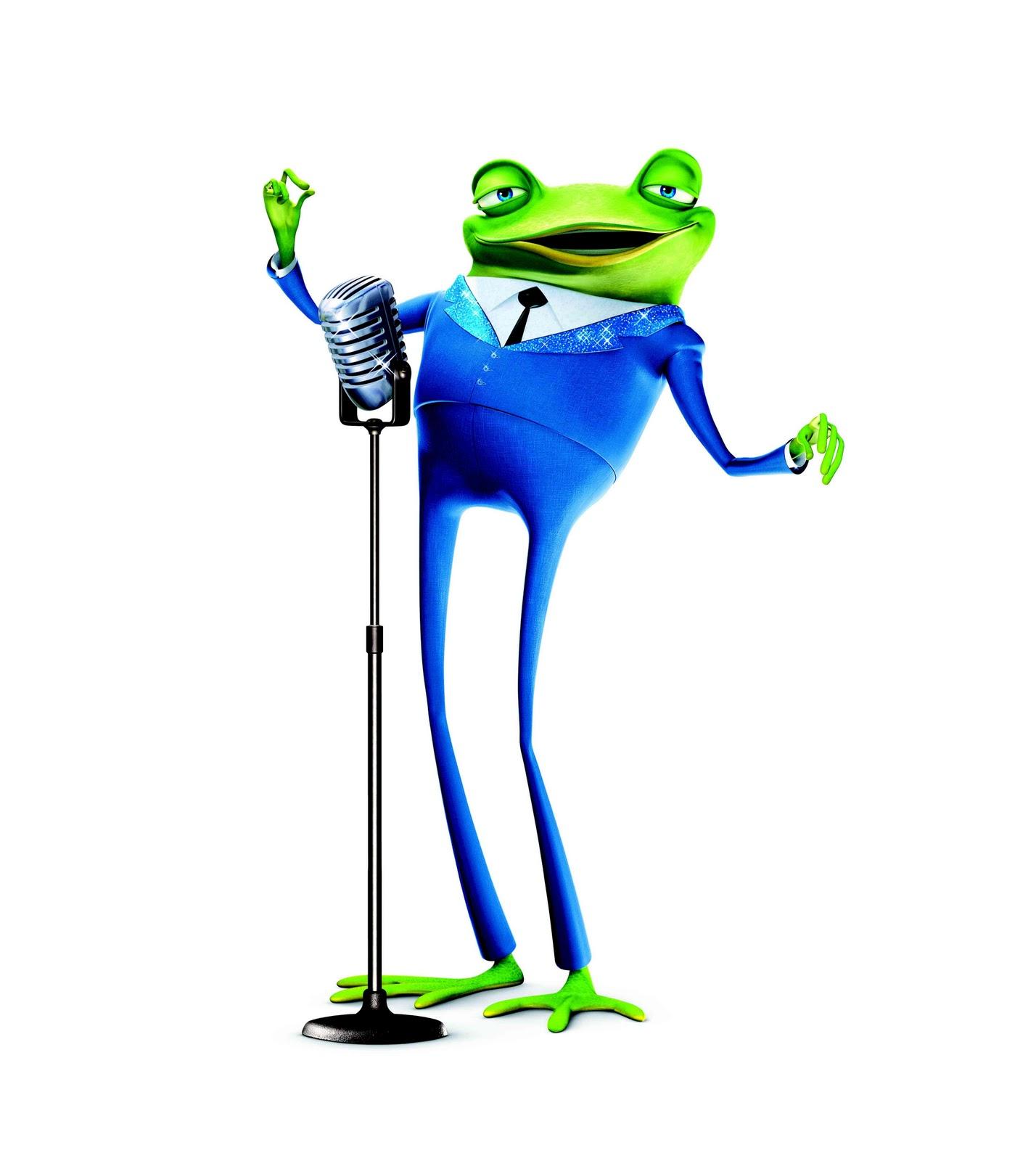 meet the robinsons singing frogs scene kid