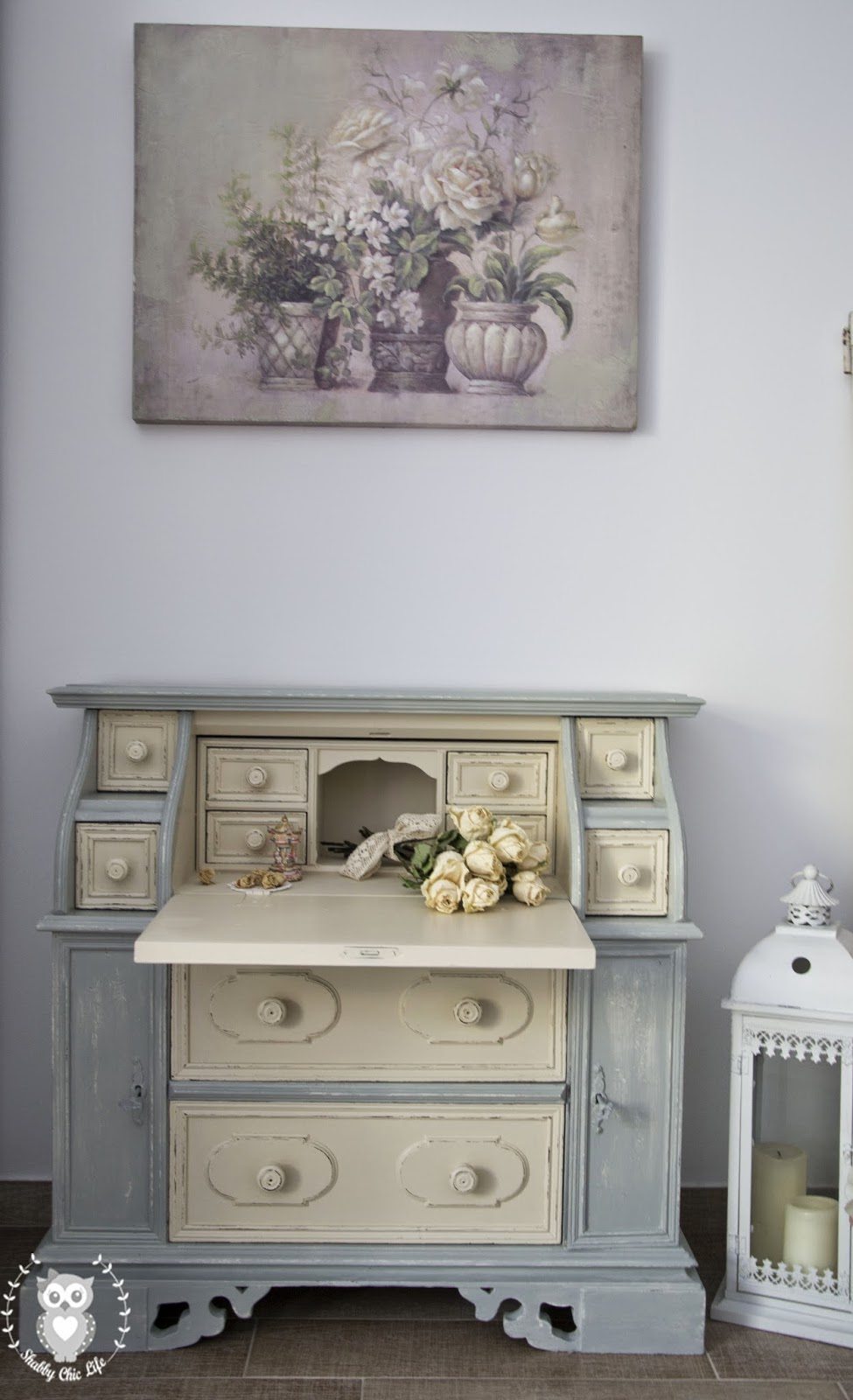 Secretaire in stile Shabby Chic con la chalk paint Decora Facile