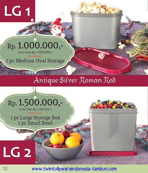 Level Gift 1 & 2 Twin Tulipware Desember 2015