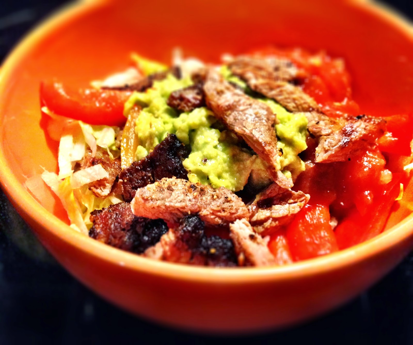 Chipotle at Home: Steak Taco Salads