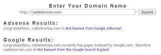 Cara Mengetahui Blog Kena Banned Google