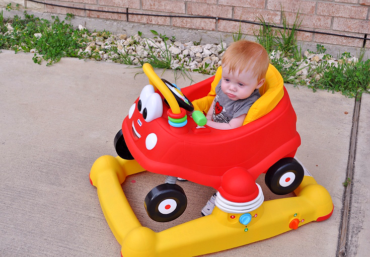 Little Tikes Cozy Coupe Activity Walker from Toys R' Us #sponsored