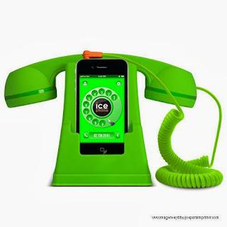 telefono para decorar