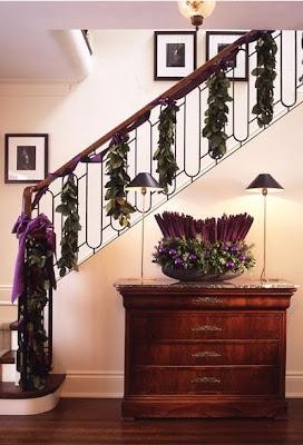 El blog de la navidad diciembre 2011 - Decoracion navidena escaleras ...