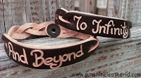 To Infinity And Beyond Bracelet Leather