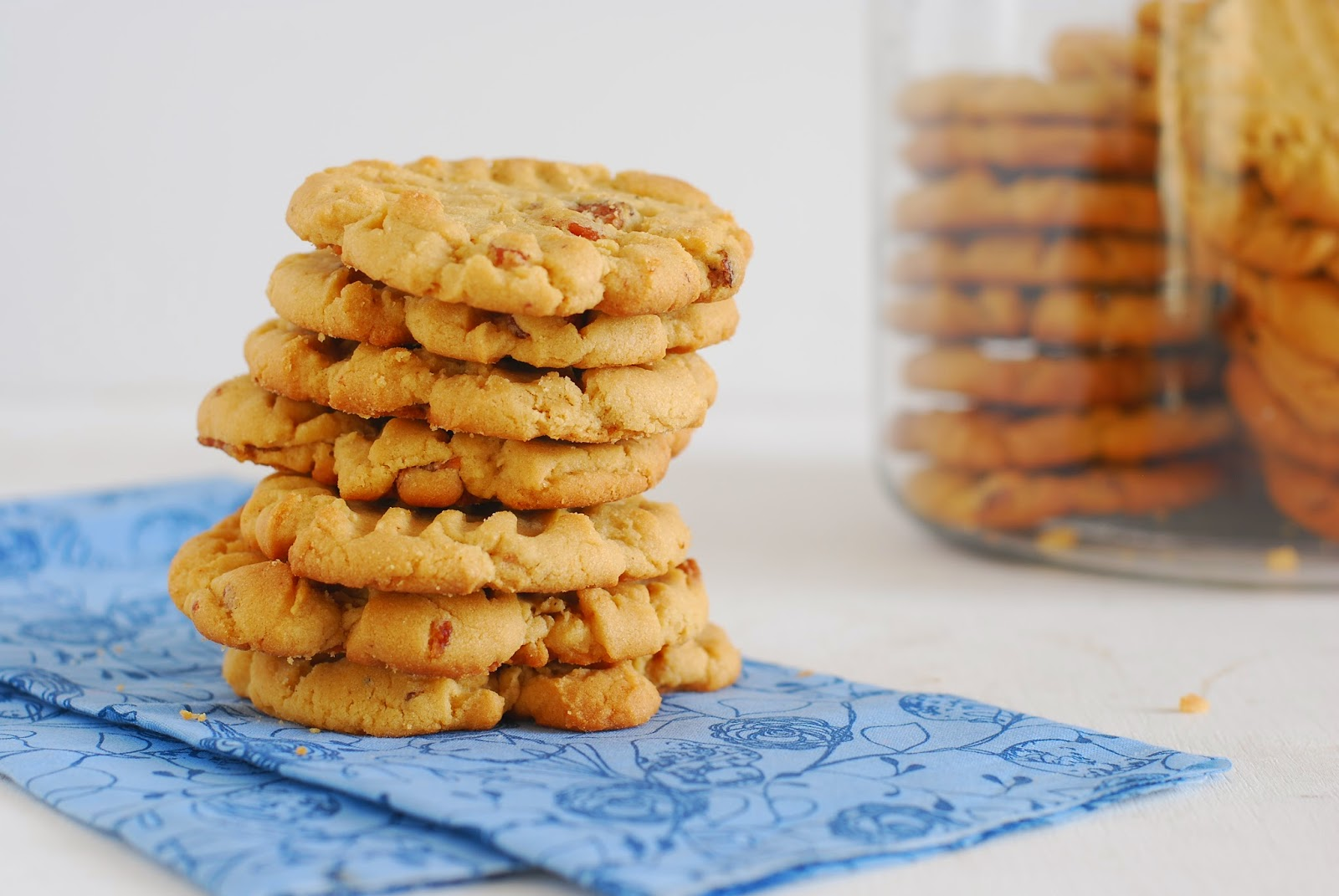 Call Me Fudge: Peanut Butter Bacon Cookies