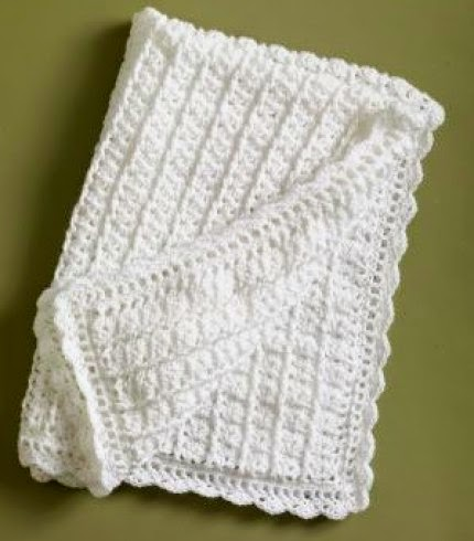 Classic Coverlet - Free Crochet Pattern