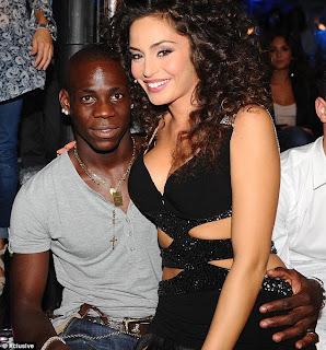 Mario Balotelli With Girlfriend