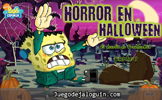 juegos de jaloguin de bob esponja