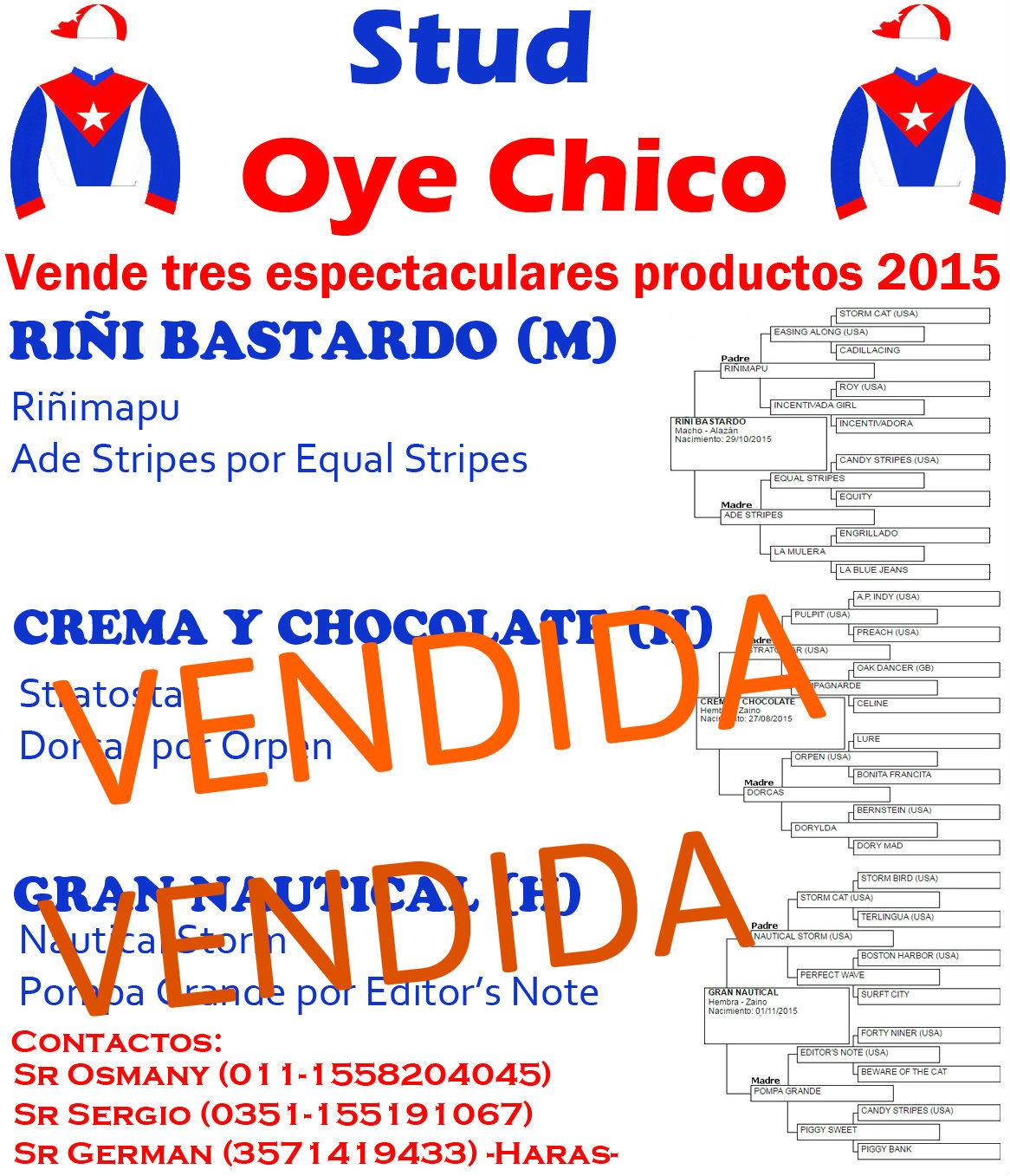 OYE CHICO 1