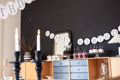 Sweet 18 geburtstagstisch und geburtstagsgedanken for 18 geburtstag deko ideen