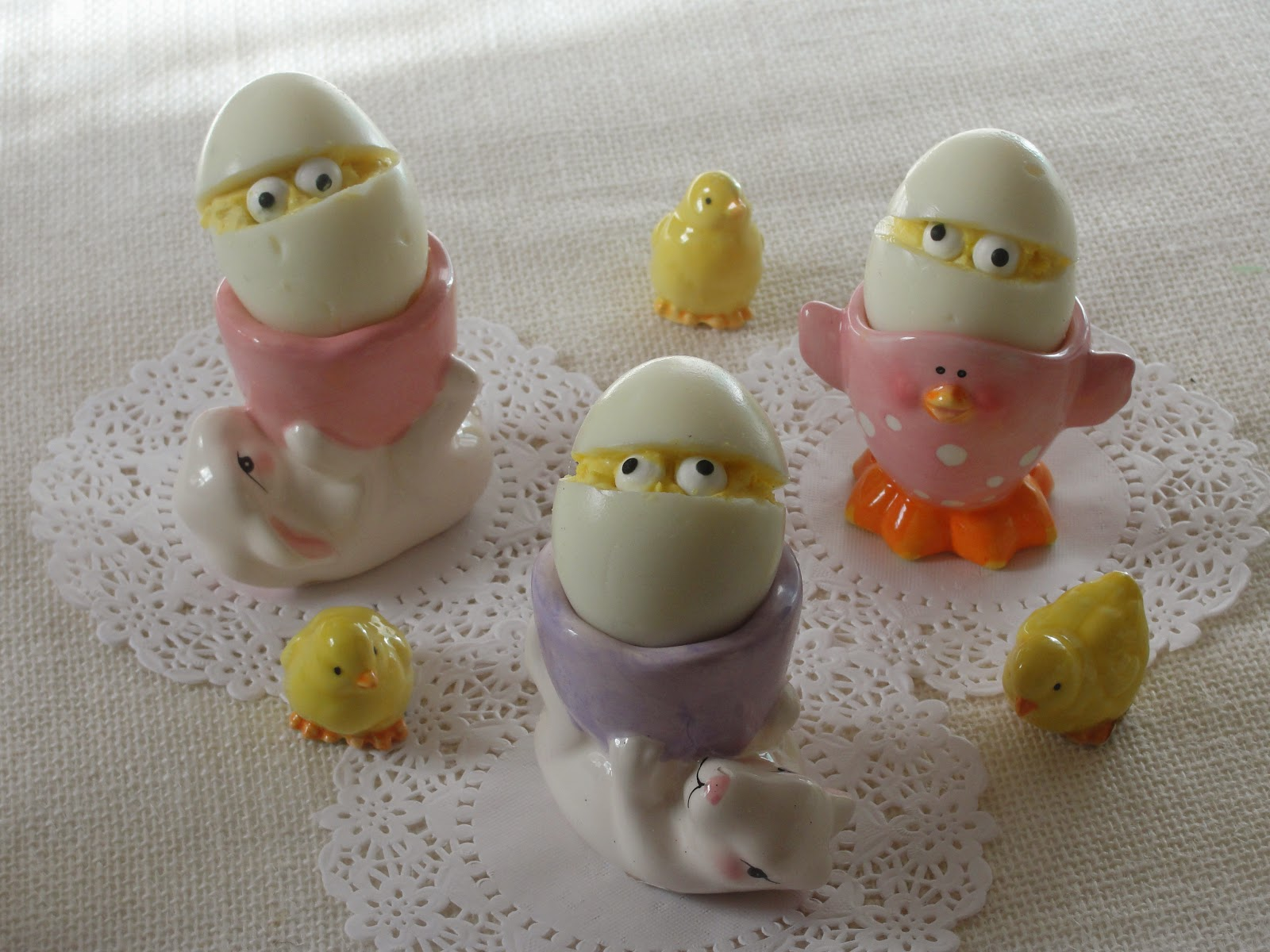 Cute Deviled Egg People and Some Unusual Deviled Egg Recipes