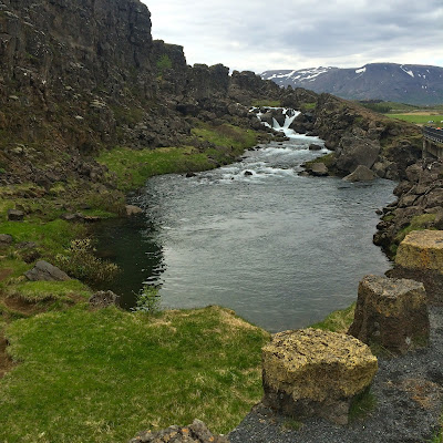 North American Plate on the left, Eurasian on the right.