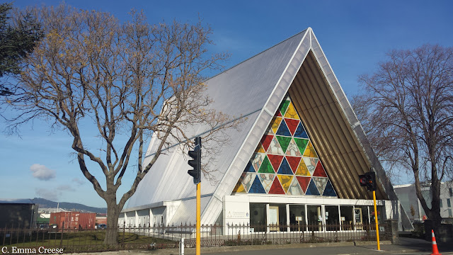Cardboard Cathedral New Zealand