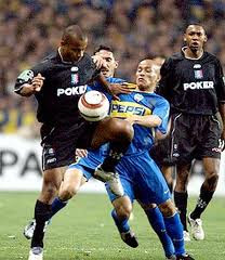 Once Caldas 1 x 1 Boca Juniors - 2004