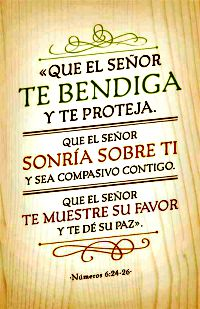 Jehová Te Bendiga, Y Te Guarde...